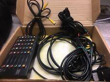 Keene High BandWidth HDTV Capable 1:5 AV Distribution Amplifier - UK Seller