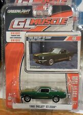 Green Light GL Muscle *Series 14* 1966 Shelby GT-350H Green/Gold Stripes