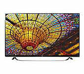 "LG 65UF8500 65"" Full 3D 1080p UHD IPS LED Internet TV Retail Price $3499.99"
