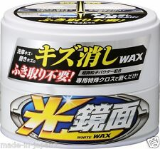 Soft99 Remove Scratch Clear Wax White Mirror Finish Japan Auto Car 00418