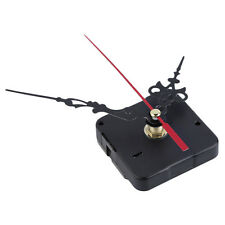 New Quartz Clock Movement Mechanism Long Spindle Red Hands Repair DIY Kit Set IL