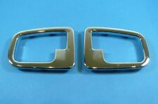 Blinds Frame Door opener inner BMW E36 Z3 chrome Door handle frame NEW ITEM