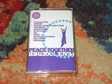 PEACE TOGETHER Cassette Comp LOU REED Billy Bragg BLUR Therapy? POP WILL EAT IT