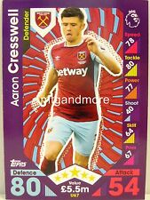 Match Attax 2016/17 Premier League -  U67 Aaron Cresswell - Update