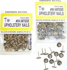 300 Antique Finish Upholstery Nails Tacks Studs 08921