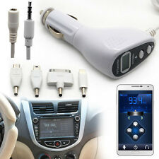 Car Kit FM Transmitter Modulator Charger For iPhone 5 5C 5S 4 4S 3GS iPod Touch