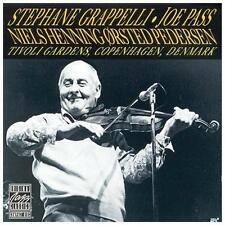 FREE US SH (int'l sh=$0-$3) NEW CD Stephane Grappelli, Joe Pass: Tivoli Gardens