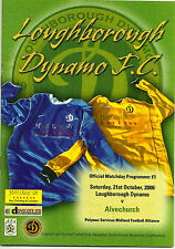 LOUGHBOROUGH DYNAMO FC v ALVECHURCH 21st OCTOBER 2006 MIDLAND FOOTBALL ALLIANCE