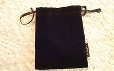 Lot of 6 Mary Kay Black Velvet Drawstring Jewelry Pouches Bags w/ satin lining