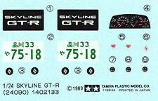 TAMIYA Decal 24090 1/24 Nissan Skyline GT-R