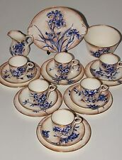 Doulton Burslem Tea Set, 21 Piece.