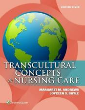 Transcultural Concepts in Nursing Care by Margaret M. Andrews 7th Edition NEW