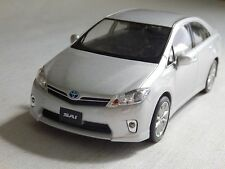 SAI TOYOTA 1/24 Car Figure Silver Not For Sale
