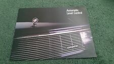 1987 BUICK AUTOMATIC LEVEL CONTROL USA BROCHURE Riviera Regal Le Sabre Electra