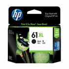 RETAIL BOX 2017-2018 HP 61 XL Black Genuine Ink For 2620 5535 5531 5530 4505