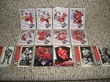 250 CARD LOT DETROIT RED WINGS (bv $800) INSERTS/ ROOKIES / SP'S FREE SHIPPING