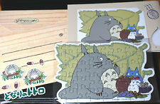Sale - Totoro Puzzle Card Sticker Envelope Set TypeD Genuine Studio Ghibli J250