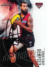 Signed 2012 ESSENDON BOMBERS AFL Card COURTENAY DEMPSEY