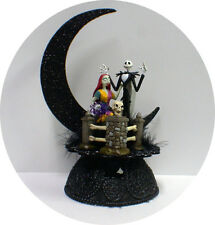 Jack & Sally F Nightmare before Christmas Wedding Cake topper DISNEY Halloween