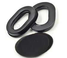 105x80mm cushioned labor protection Silica gel ear pads pillow for headset