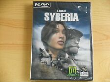 Syberia PC Steampunk Puzzle Adventure Game by Benoit Sokal NEW Sealed