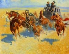 Remington Frederic Downing The Nigh Leader Print 11 x 13  #3140