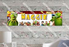 Personalized/Customized Muppets Most Wanted Name Poster Wall Decoration Banner