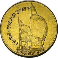 elf 1984 Olympics Bus Token  Yachting  Ship