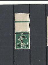 Memel, Klaipeda, Litauen, 1920 Michelnr: 18 c *, ungebraucht, Katalogwert € 5,00