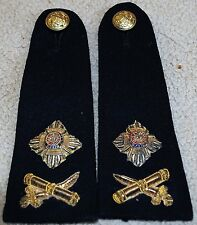 Major  General Rank insignia epaulettes