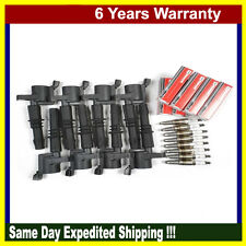 MotorKing Ignition Coil For Ford Lincoln B255*8 + 8 spark plug SP515 IC035
