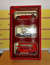 Matchbox Models of Yesteryear 1985 LIMITED EDITION GIFT SET WITH ORIGINAL 3 CARS