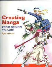 Creating Manga: From Design to Page - Ryuta Osada NEW Paperback 1st edition