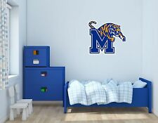 Memphis Tigers NCAA Football Sports Wall Decal Vinyl Sticker For Room Home
