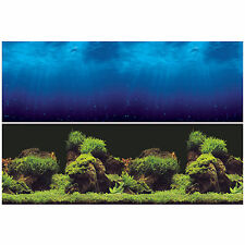 "Vepotek Aquarium 48""W X 24""H Background Double sides (Deep Sea/Water Plants)"