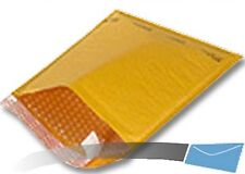 250 6.5x10 Kraft Bubble Mailer CD Envelope Shipping Sealed Air Paper Mailing
