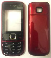 New!! Red Housing / Fascia / Cover / Case for Nokia 2700C / 2700 Classic
