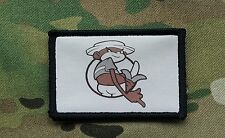 Johnny Chimpo Afghanistanimation Morale Patch Monkey Super Troopers Tan