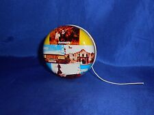 Texas The Lone Star State Tin Litho Hollow Metal Souvenir Yo-Yo Vintage NM