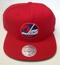NHL Winnipeg Jets Mitchell and Ness Vintage Snapback Cap Hat M&N NZ980 NEW!