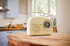 Bush Retro Classic FM AM Radio + 90 Days WARRANTY