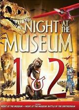 Night at the Museum 1 & 2 New DVD! Ships Fast!