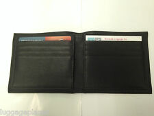 Jack Georges Platinum Special Edition Mens Leather Bifold Hipster Wallet 8703