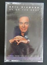 Up on the Roof Songs from the Brill Building Neil Diamond Cassette New Free Ship