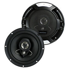 "Renegade RX62 6.5"" 200 Watt 3-Way 4-ohm Car Audio Coaxial Speakers Stereo (Pair)"