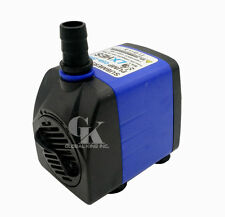 220V, 1500LPH Aquarium Pond Fish Tank 15W Submersible Water Pump
