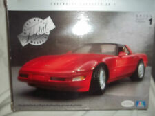 Testors Italeri Chevrolet Corvette ZR-1 Painted Metal Kit 1/24 Mint & Boxed