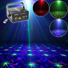 SUNY 300mw Remote RGB Full Color 12 Gobos Project Laser Lighting DJ Home Xmas