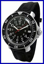 """KOMANDIRSKIE"" VOSTOK MECHANICAL WATCH !!!NUOVO!!! 14c It"