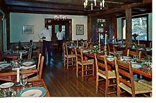 The Hulls Dining Room-Pine Crest Inn-Tryon-North Carolina-Vintage Adv Postcard